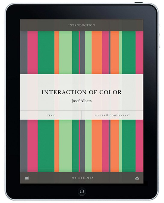 Interaction of Color-Albers-iPad App