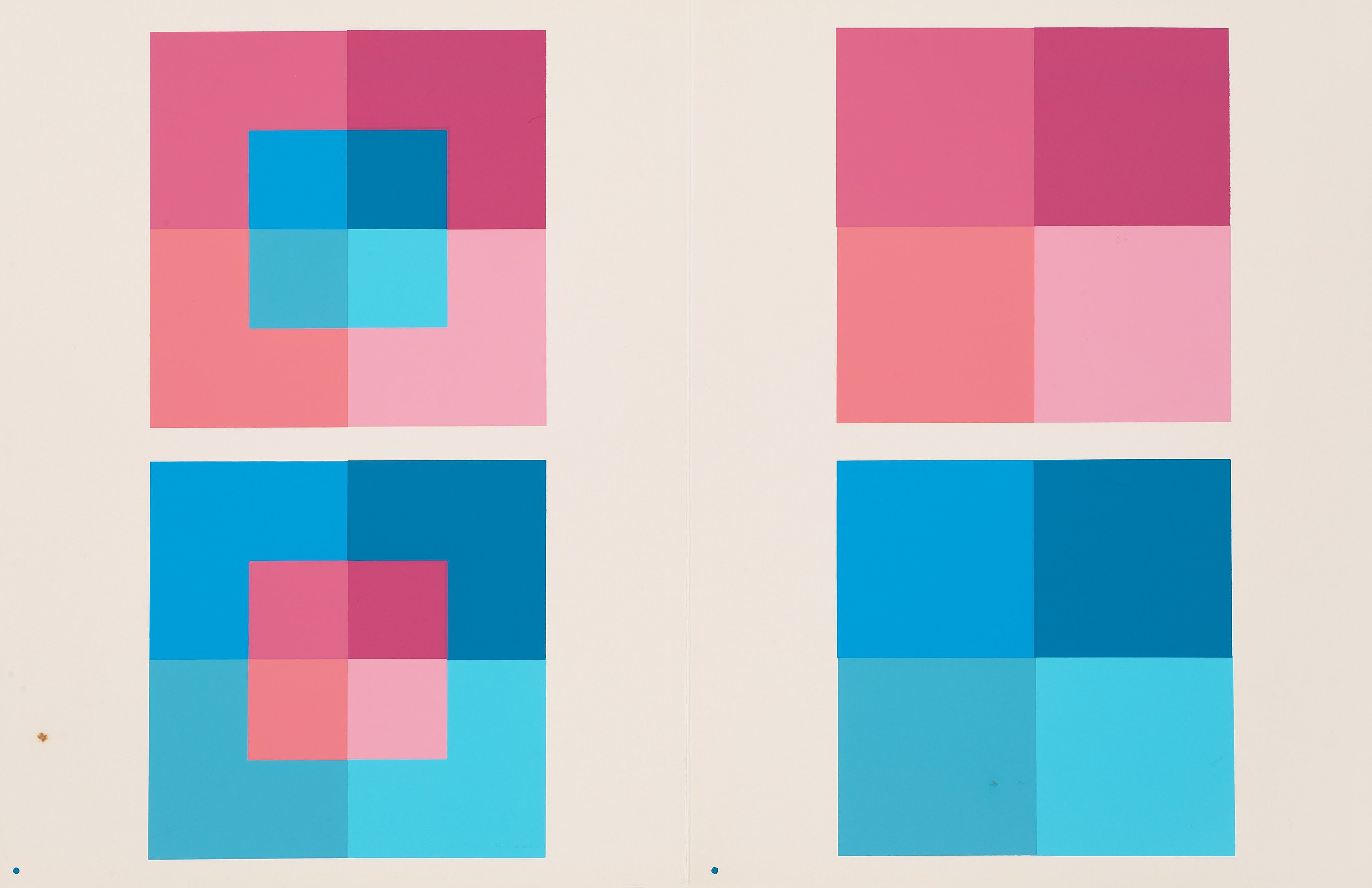 Interaction of Color Plate-Albers