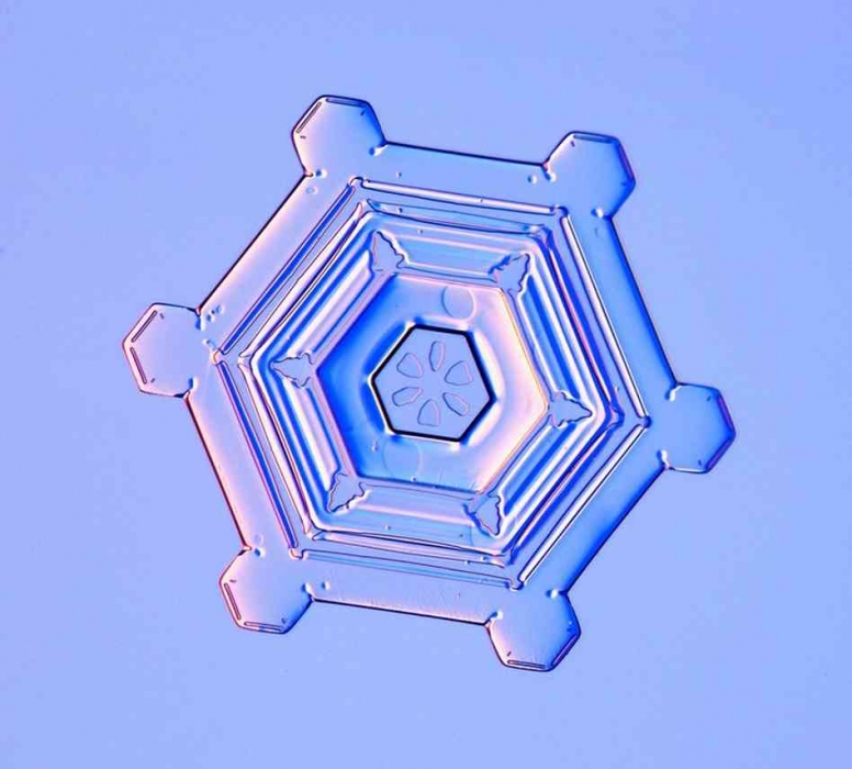 A snowflake photograph by scientist Ken Libbrecht  (Photo by Ken Libbrecht via npr.org)