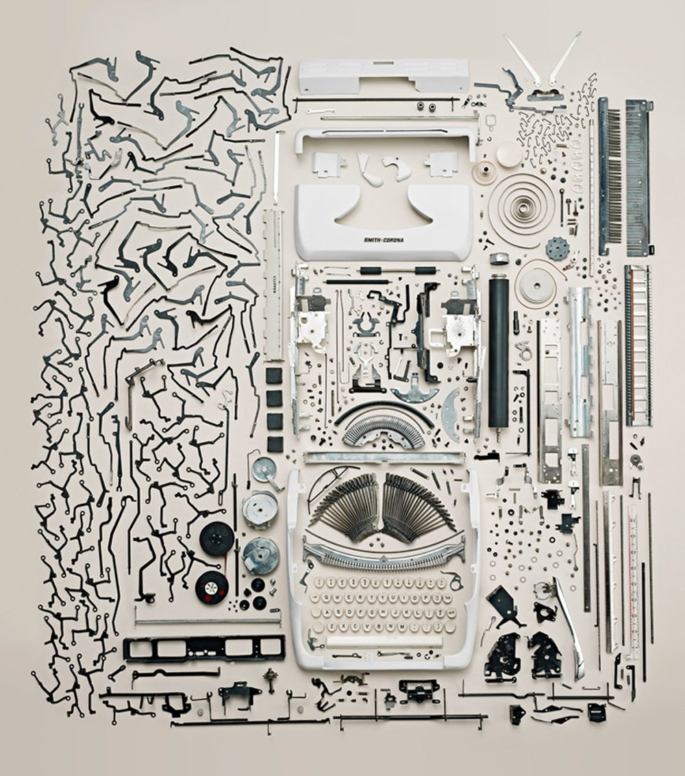 Todd McLellan, Vintage Typewriter (Photo  © Todd Mclellan motion/stills inc.)