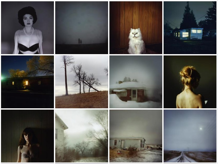 Todd Hido-Excerpts from Silver Meadows-Montage of Book
