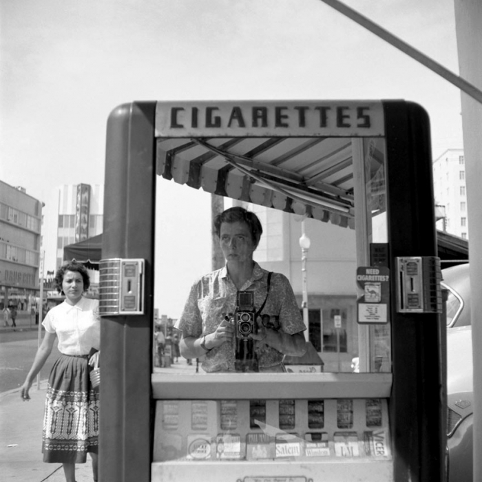 (Self-portrait by Vivian Maier courtesy powerHouse Books)