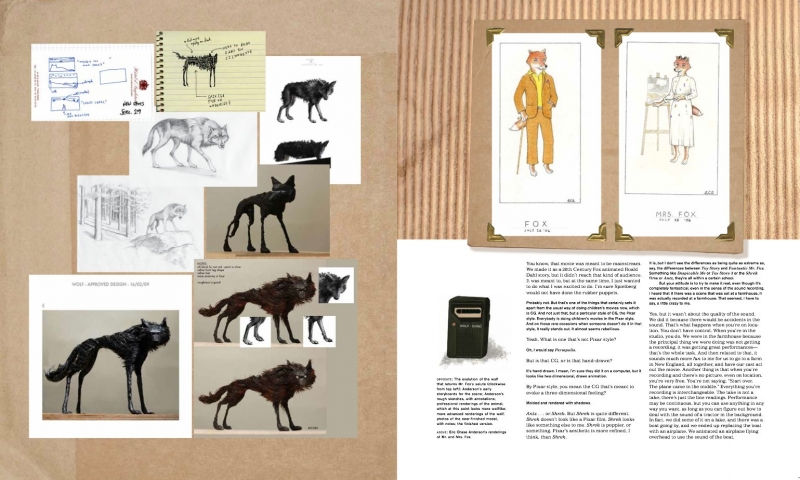 Wes Anderson Collection-Wolf & Fabulous Mr Fox