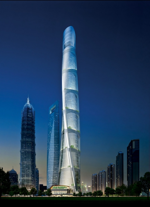 The Shanghai Tower (Photo © Gensler)