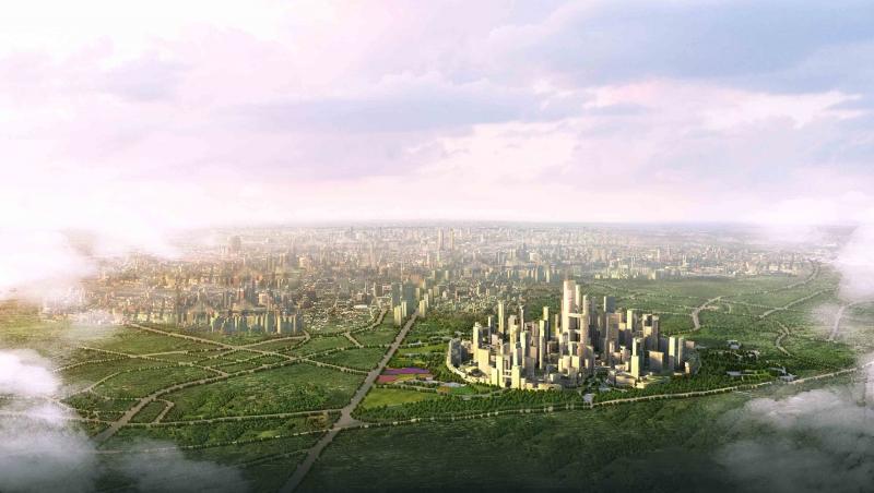 Tianfu Great City  (Photo © Adrian Smith + Gordon Gill Architecture)
