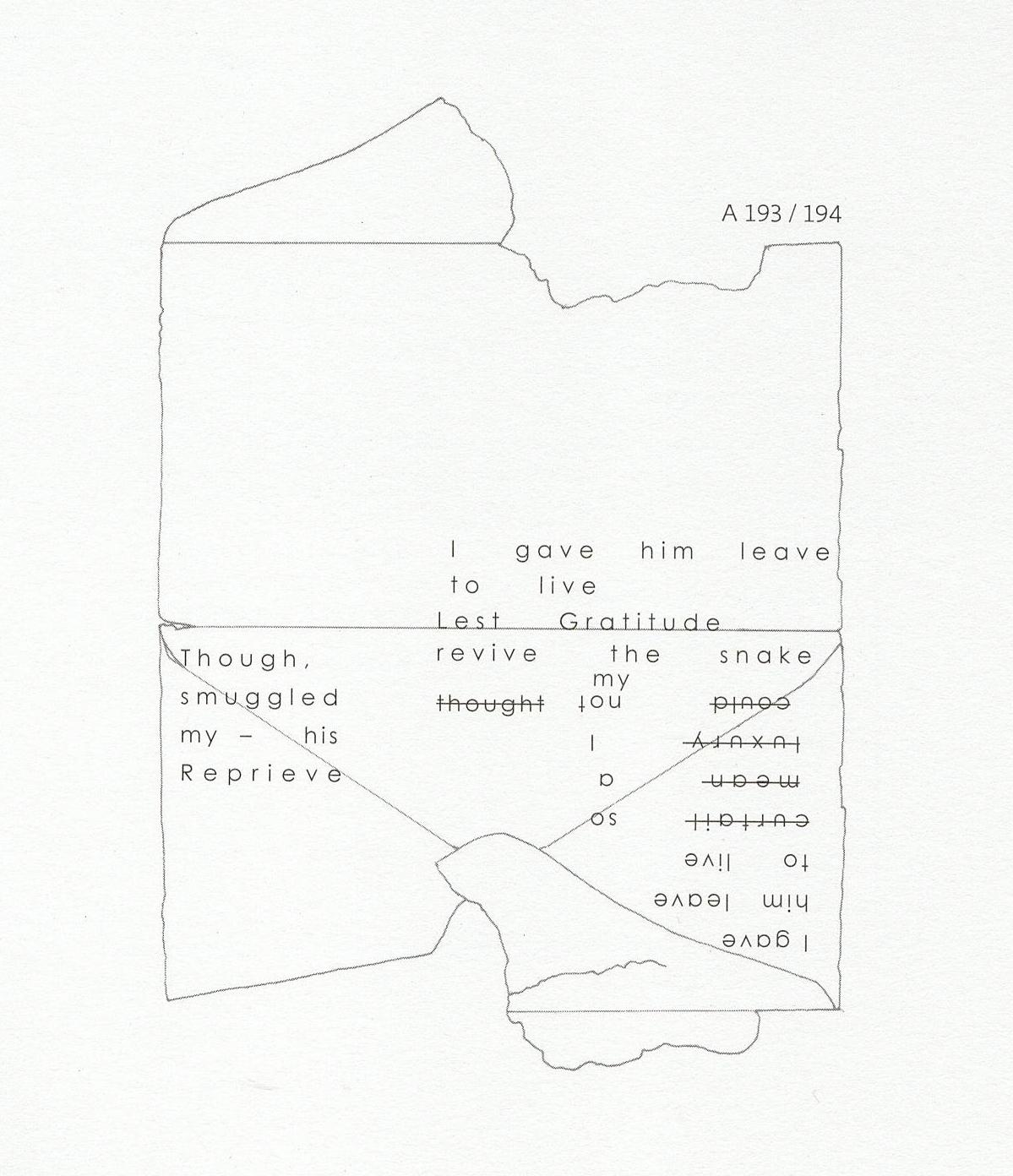 Dickinson-Envelope Map