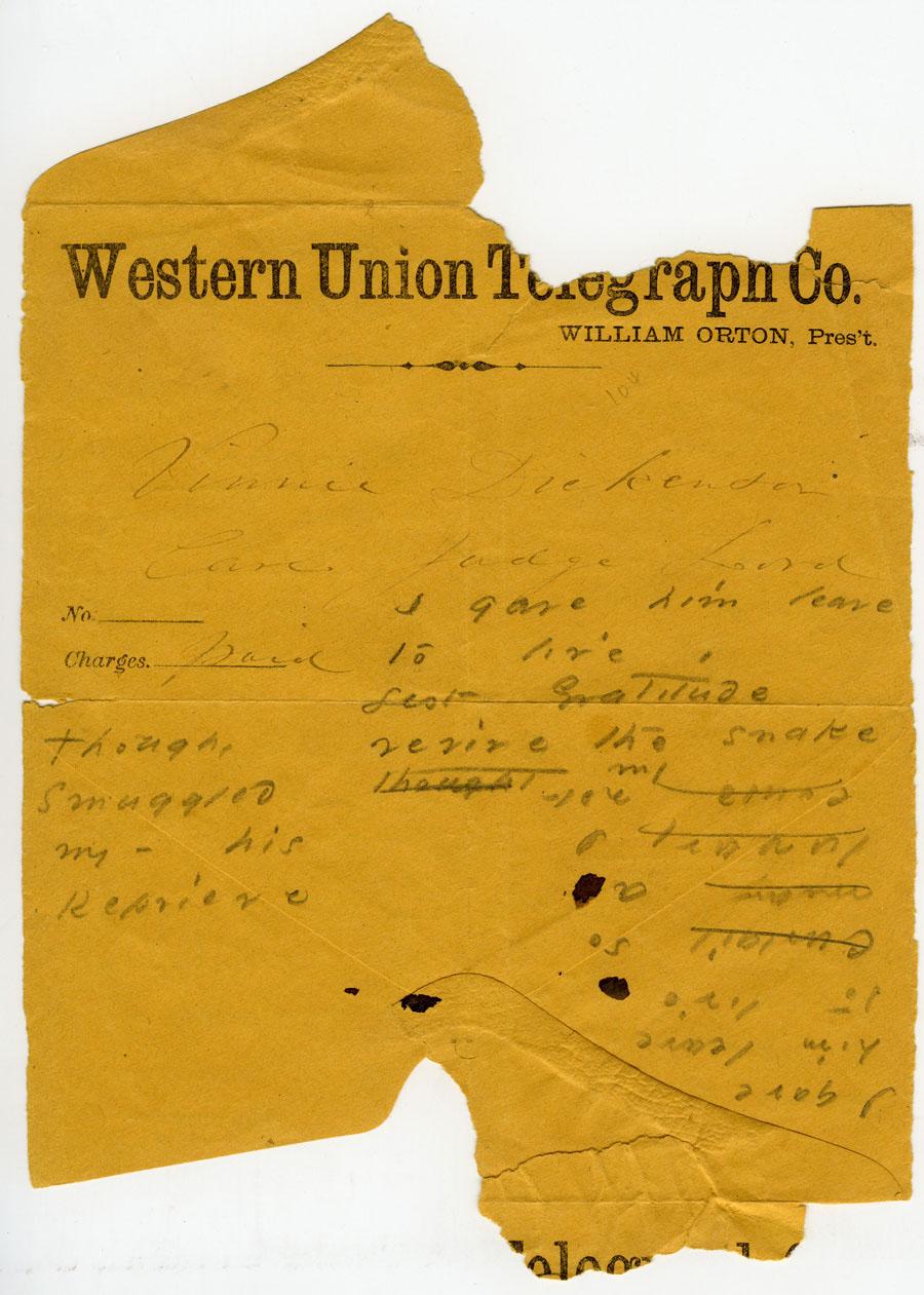 Western Union-Dickinson