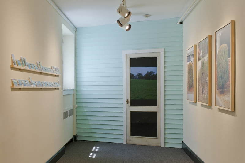 An installation shot of Humors at the Bennington Museum in Vermont (Photo by Angus McCollough)