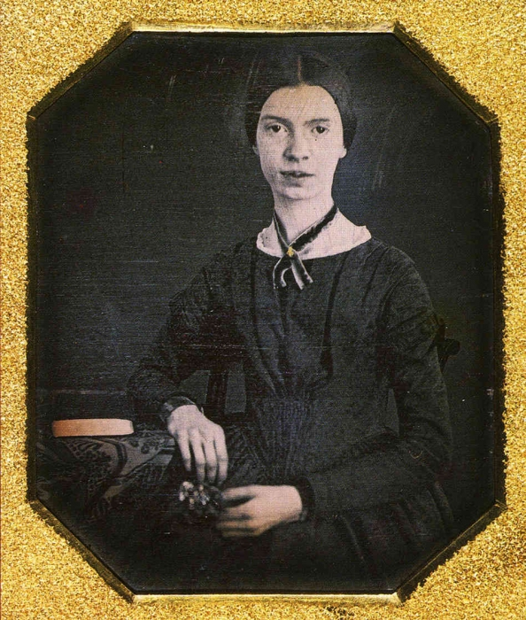 Emily Dickinson (Courtesy of the Amherst College Library)