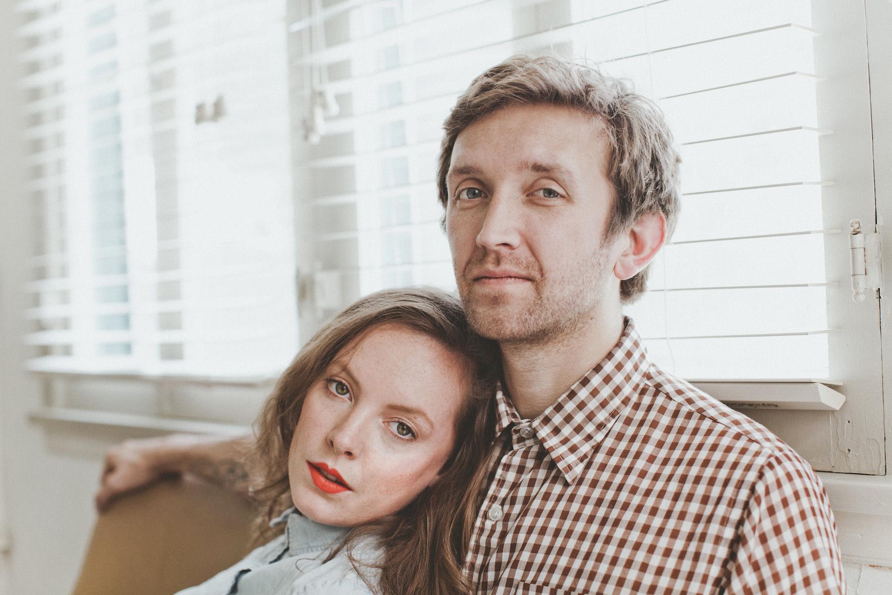 Amelia Meath and Nick Sanborn formed Sylvan Esso in 2013 (Photo via sylvanesso.com)