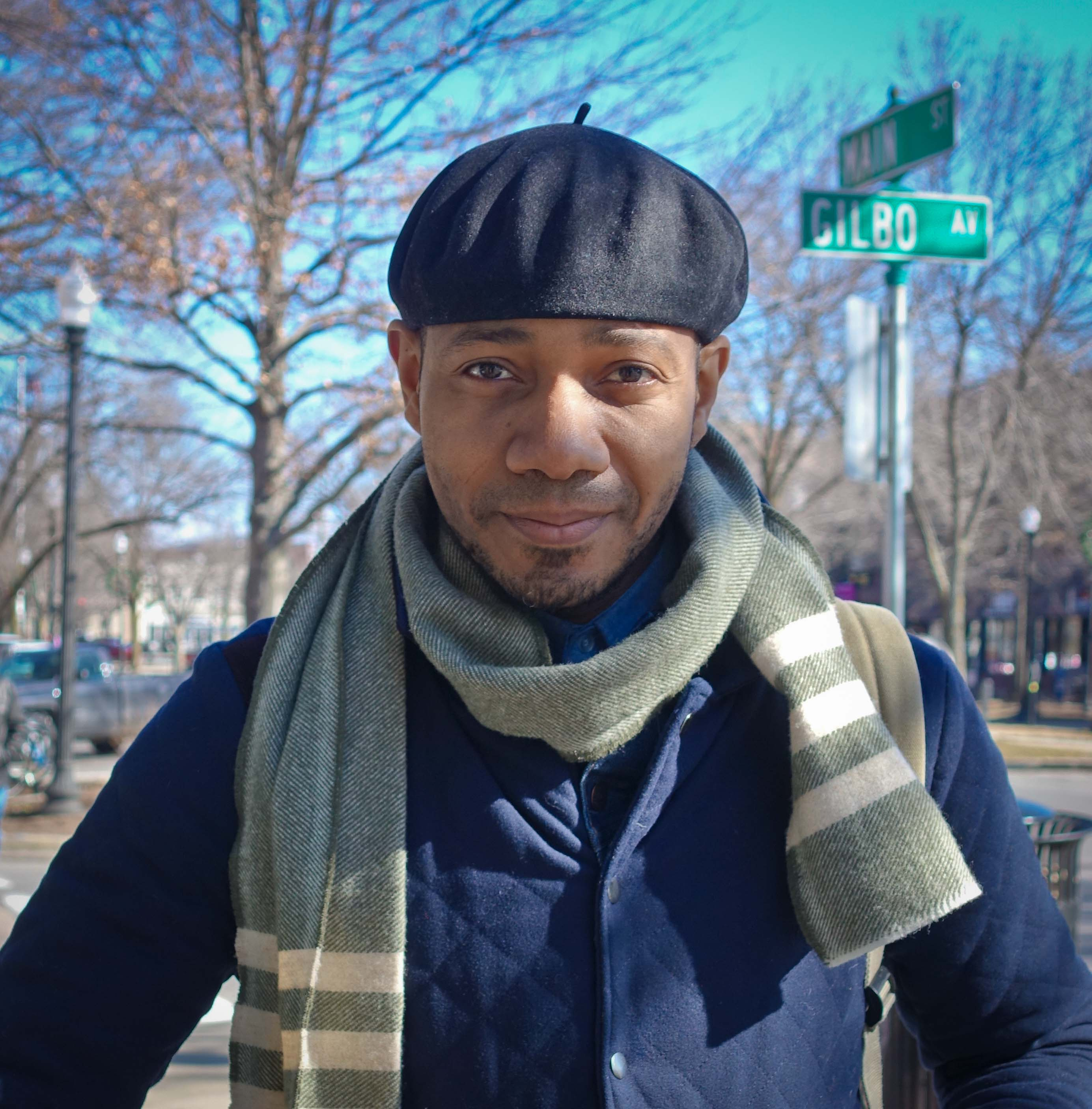DJ Spooky in Keene, New Hampshire (Photo by Michelle Aldredge)