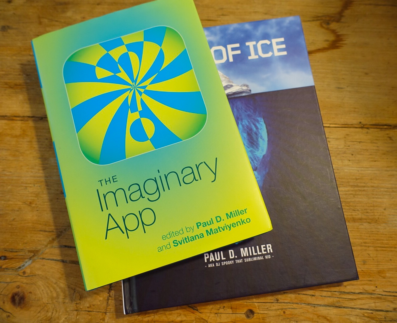 Imaginary App & Book of Ice 2-Photo by Michelle Aldredge
