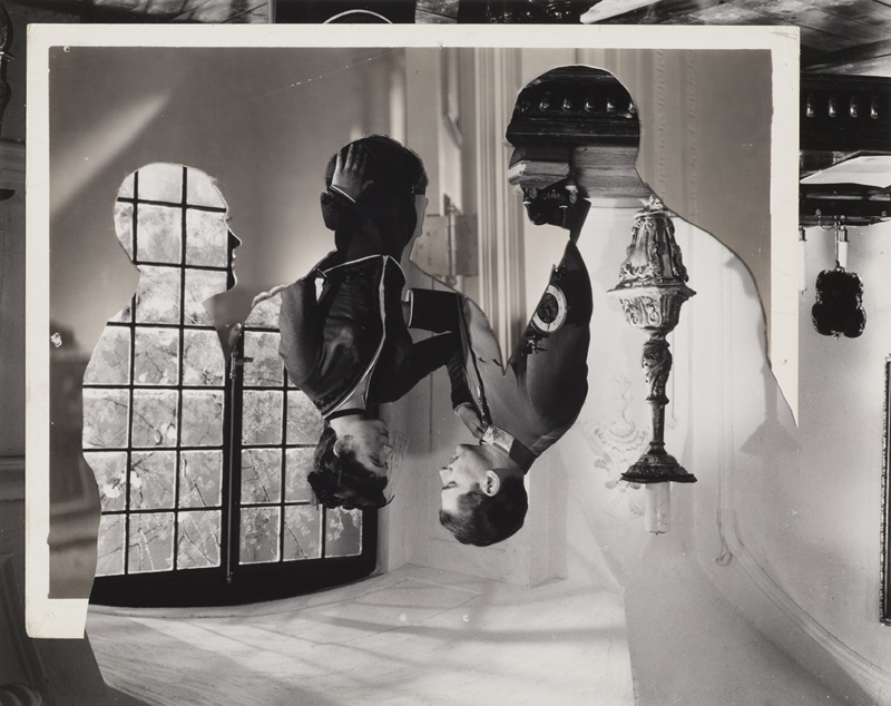 John Stezaker, Double Shadow XX, 2014, 23.4 x 29.6 cm (Photo via theapproach.co.uk)