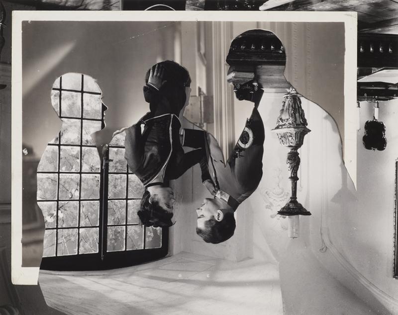 John Stezaker, Double Shadow XX, 2014, 23.4 x 29.6 cm Photo via >>>)