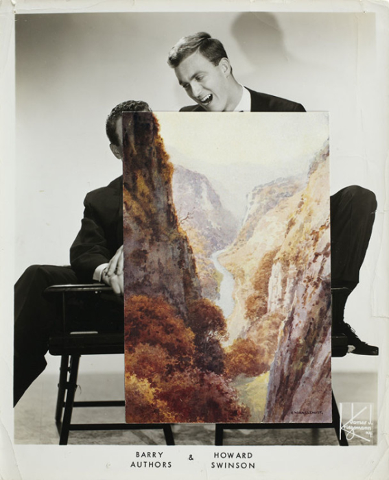 John Stezaker, Echo (Film Still Collage) I, 2010, 25.3 x 20.7 cm (Photo via theapproach.co.uk)