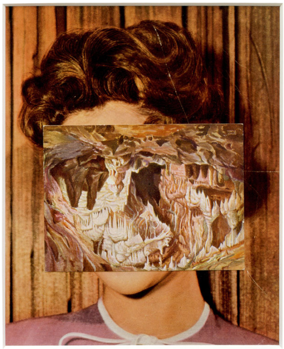 John Stezaker, Mask XXIX, 2006, 23.5 x 19 cm (Photo via saatchigallery.org)