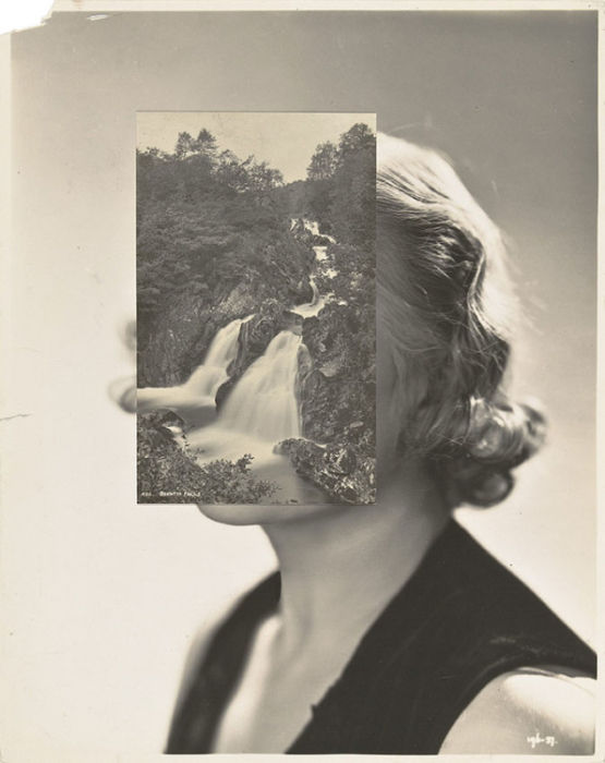 John Stezaker, Mask XLVIII, 2007, 25 x 20 cm (Photo via theapproach.co.uk)