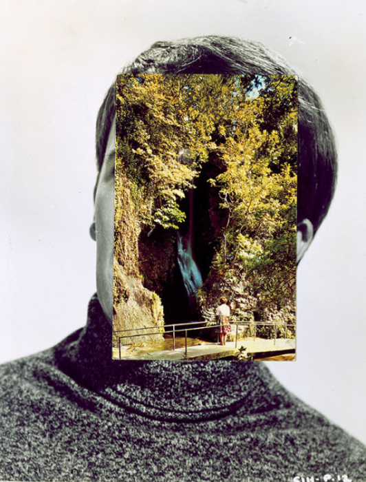 John Stezaker, Mask XXII, 2005, 23.5 x 18.1 cm (Photo via theapproach.co.uk)